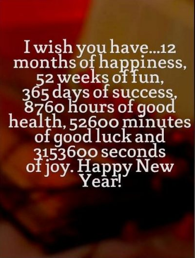 2019 Inspirational New Year Wishes