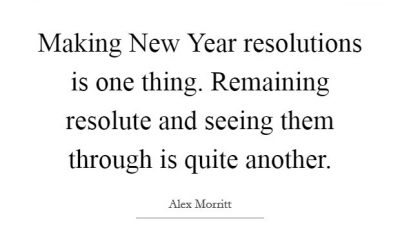 Best New Year Resolution Quote