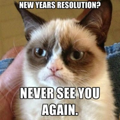 Best New Year's Resolution Meme