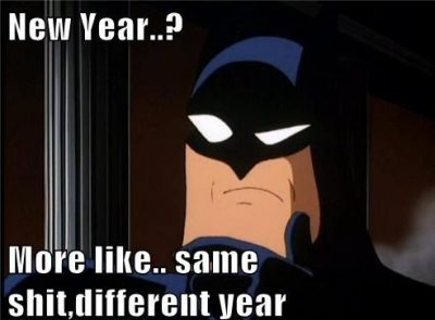 Cartoon New Year Memes
