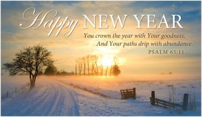 Christian Bible Verses For New Year