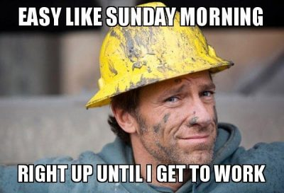 Dirty Job Sunday Memes