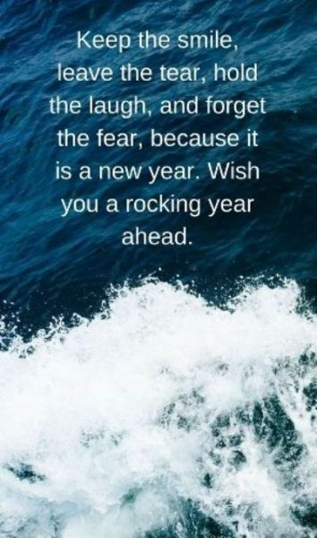 Encouraging New Year Wishes