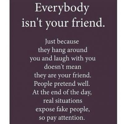 Fake Close Friends Quote