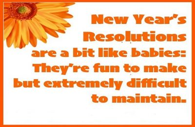Funny Quotes About New Year's Resolution