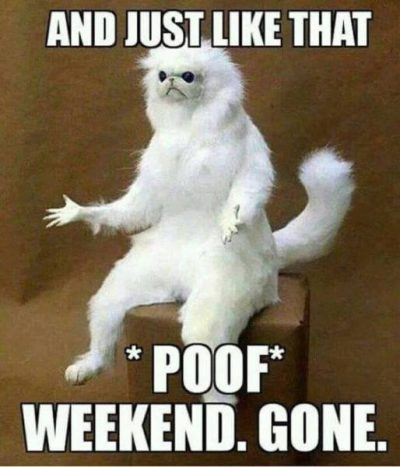 Gone Weekend Memes