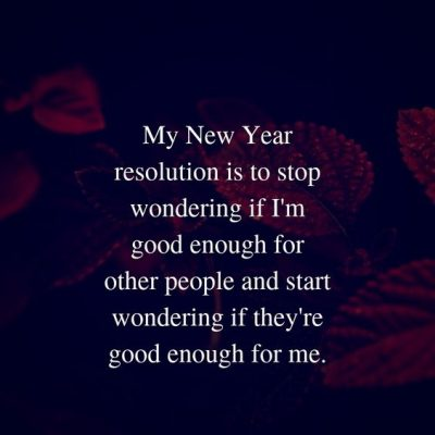 Happy New Year Resolutions Quotes