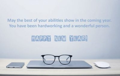Happy New Year To Employees