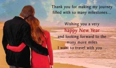 Happy New Year Wishes For Her