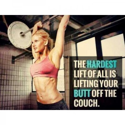 Hard Work Gym Quote