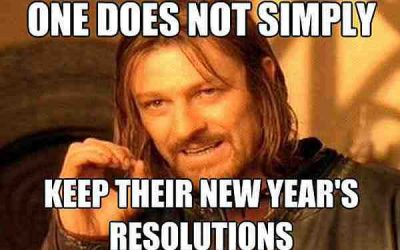 Hilarious New Year's Resolution Saying
