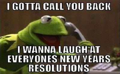 Humorous 2020 New Year Resolution