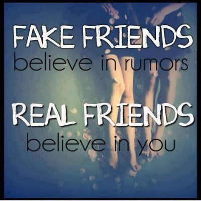 Images And Sayings on Fake Friends
