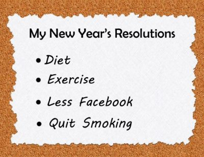 Inspirational New Year Resolution Picture