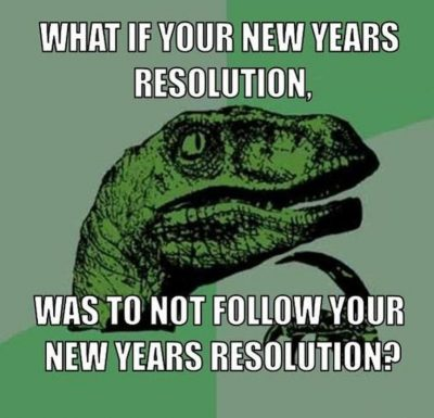 Memes About New Year's Resolution