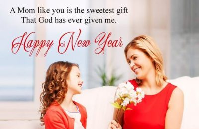 New Year Greeting For Mom