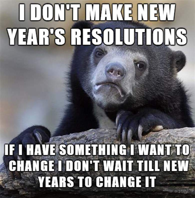 70+ Funny New Year's Resolutions that'll Make You Laugh