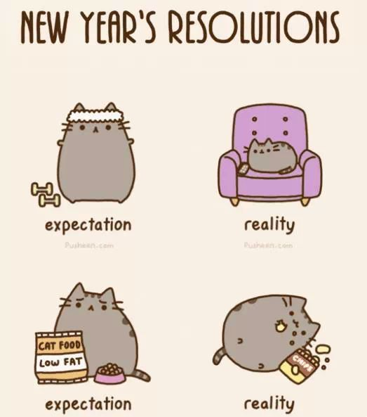 A Humorous Look at Fulfilling New Year's Resolutions