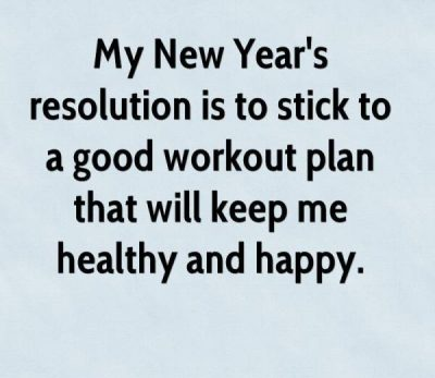 New Year's Resolution Quote For Office