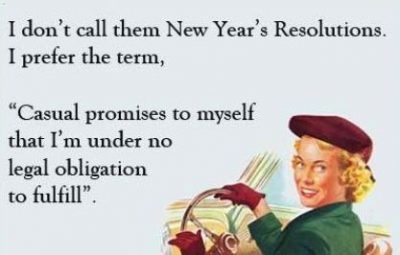 Pictures On Funny New Year's Resolution