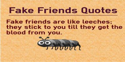 Popular Quotes About Fake Friends