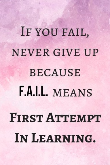 Quotes & Images To Overcome Failure