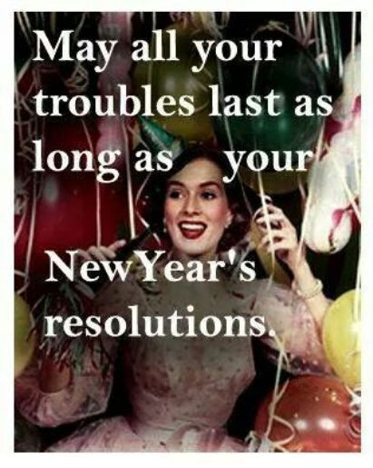 realistic funny new years resolution quotes on funny new years resolution