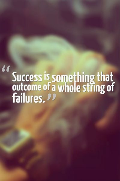 Sayings To Overcome Failure