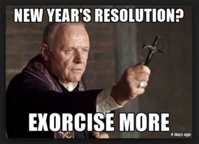 Working out Resolutions Meme
