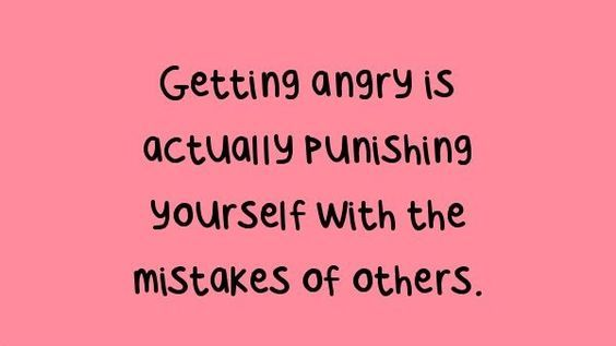 Showing anger quotes