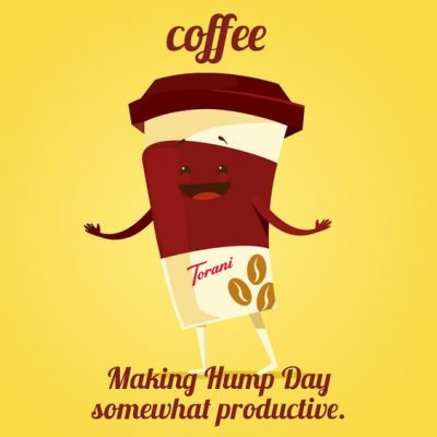 Animated Meme On Wednesday Coffee