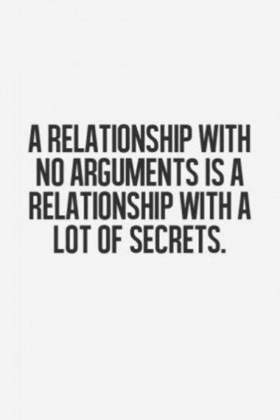 Arguments In Relationship Quotes
