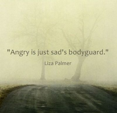 Being Angry & Sad Quotes