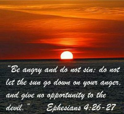Bible Quotes On Anger
