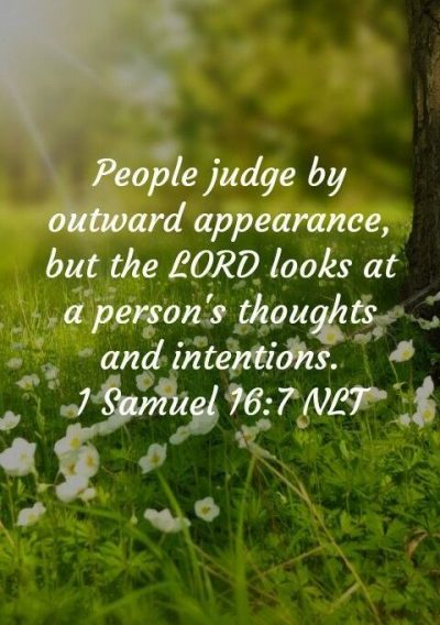 Bible Quotes On Judging People