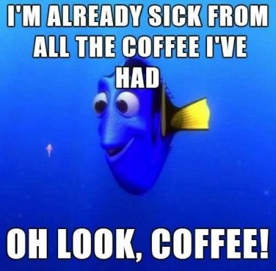 Cartoon Memes On Monday Coffee