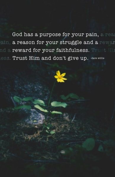 Christian Quote About Overcoming Pain
