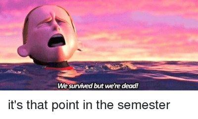 End Of Semester Nursing School Meme