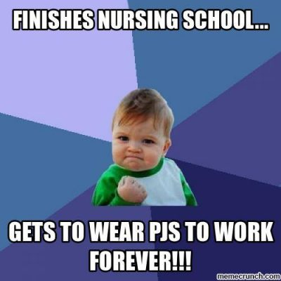 Finishing Nursing School Meme