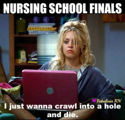 Funny Nursing School Quotes