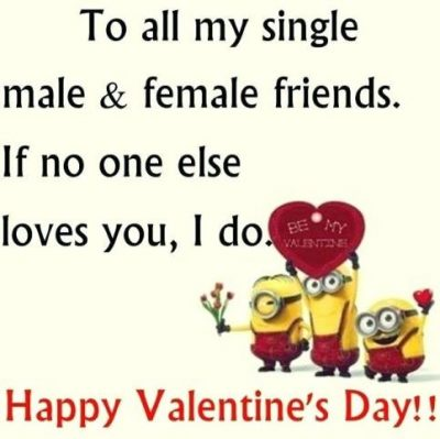 Funny Valentine Day's Quotes For Friends