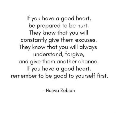 Having a Good Heart Quotes