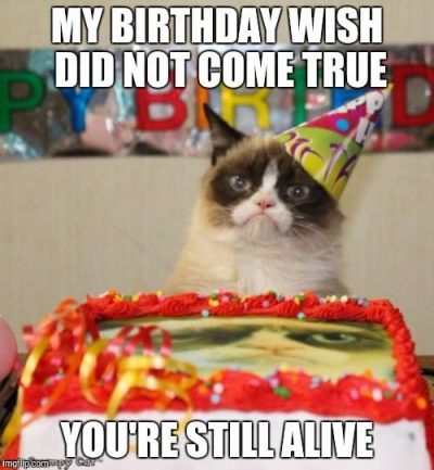 Humorous Happy Birthday Coffee Memes
