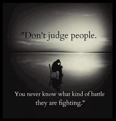 Judging People Quotations