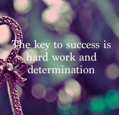 Key To Success Quotes Through Determination