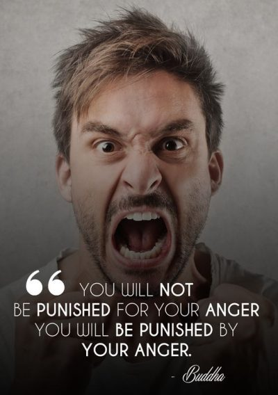 Motivational Quotes About Being Angry
