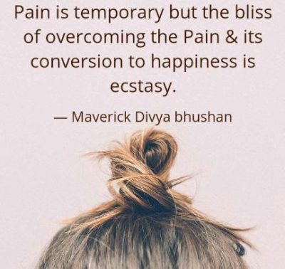 Motivational Quotes About Overcoming Pain