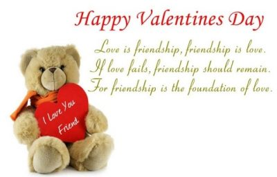 Nice Valentine Day's Wishes For Friends