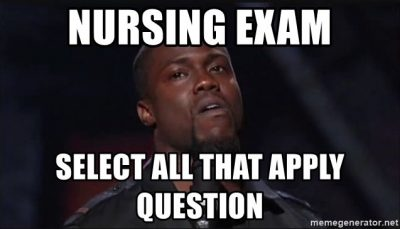 Nursing School Over Meme