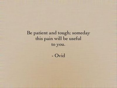 Overcoming Pain Quotations